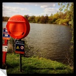 Life Buoy at Mote Park